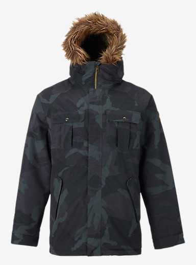 Burton Doyle Jacket shown in Derby Camo