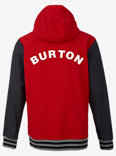 Burton Capital Softshell shown in Process Red