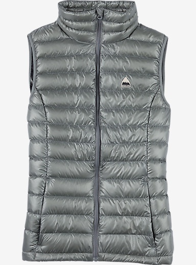 Burton Women's Packable Goose Down Insulator Vest shown in Monument