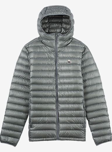 Burton Packable Goose Down Hooded Insulator shown in Monument