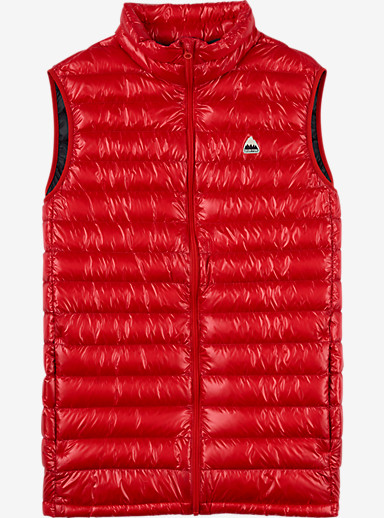 Burton Packable Goose Down Insulator Vest shown in Burner