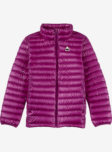 Burton Girls' Packable Goose Down Insulator shown in Grapeseed