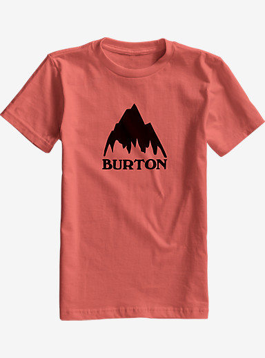 Burton Boys' Classic Mountain Short Sleeve T Shirt shown in Dusty Cedar