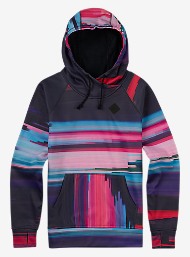 Burton Heron Pullover Hoodie shown in Flynn Glitch