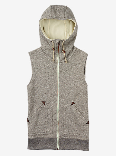 Burton Starr Vest shown in Dove Heather