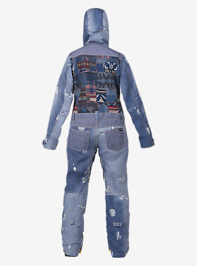 L.A.M.B. x Burton Suzi Jumpsuit shown in Denim Print