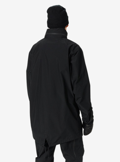 Black Scale x Burton Outbreak Jacket shown in Black Scale Black