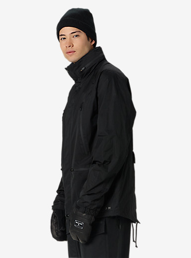 Black Scale x Burton Harbor Jacket shown in Black Scale Black