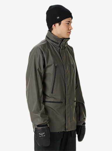 Black Scale x Burton Harbor Jacket shown in Grey Reflective