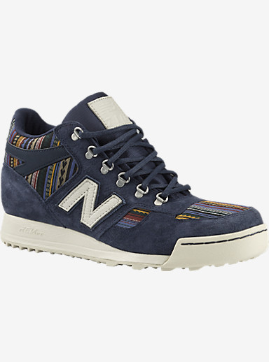 Burton x New Balance 710 Classic - Fiend Shoes shown in Navy / White / Print
