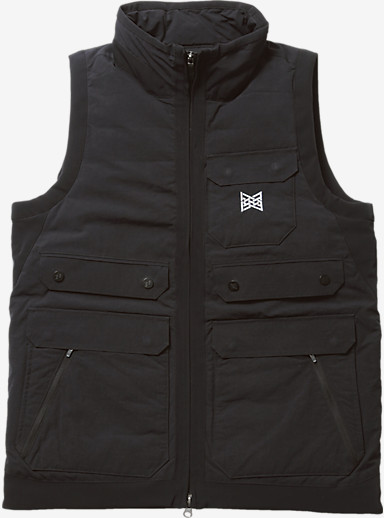 Burton THIRTEEN Raveled Vest shown in Black