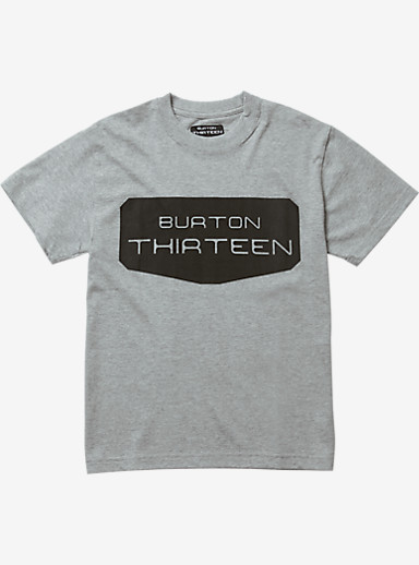 Burton THIRTEEN Wikvaya Short Sleeve T Shirt shown in Heather Gray