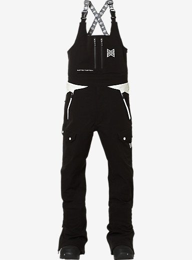 Burton THIRTEEN Moqui Bib Pant shown in Black