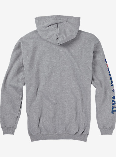 Burton US Open Misty Pullover shown in Gunmetal