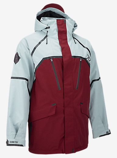 Burton [ak] Grid Hoodie shown in Burner