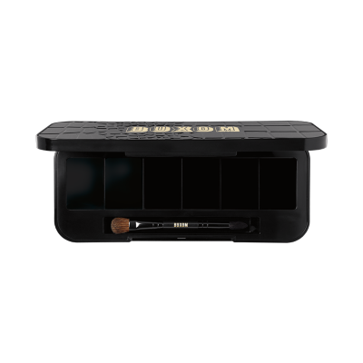 Take your favorite BUXOM Eyeshadow Bar eye shades to-go with this refillable, BUXOM Empty Eyeshadow Bar Customizable Compact. Choose your favorite shades and then pop them into the six-shade compact, which has a stylish, faux croc-embossed lid and an innovative, hidden drawer that slides in and out for easy loading.