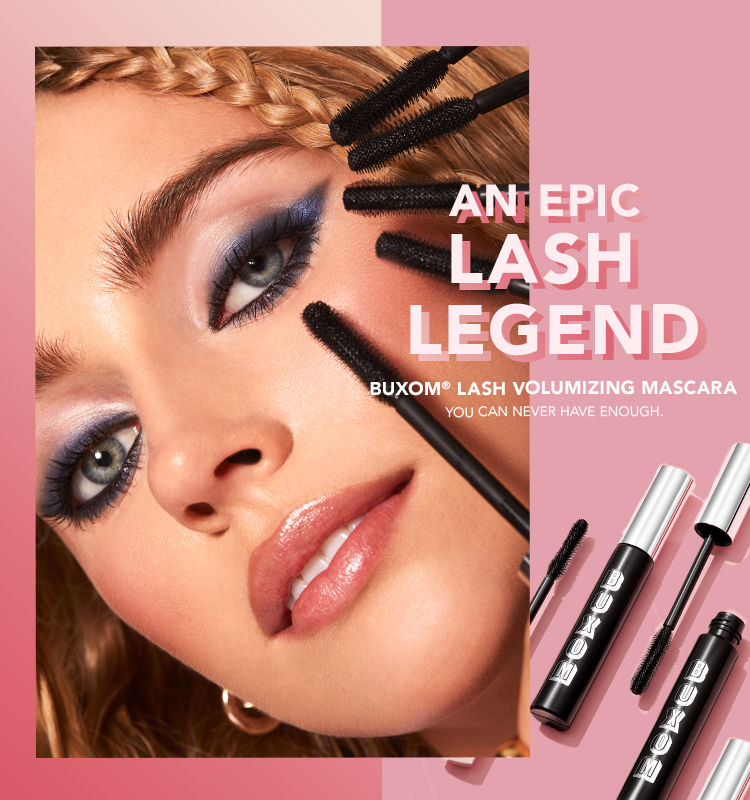 An Epic Lash Legend: BUXOM Lash Volumizing Mascara