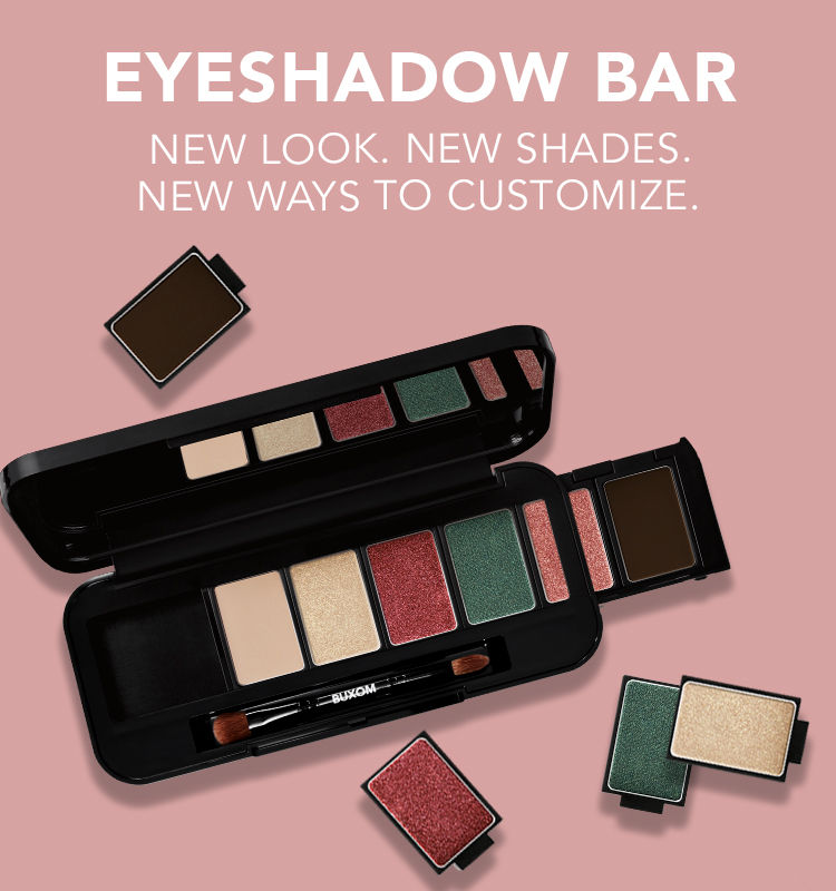 Eyeshadow Bar. New Look. New Shades. New Ways to Customize