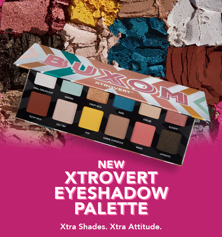 NEW XTROVERT Eyeshadow Palette