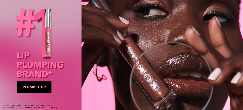 #1 Plumping Lip Brand, BUXOM Cosmetics
