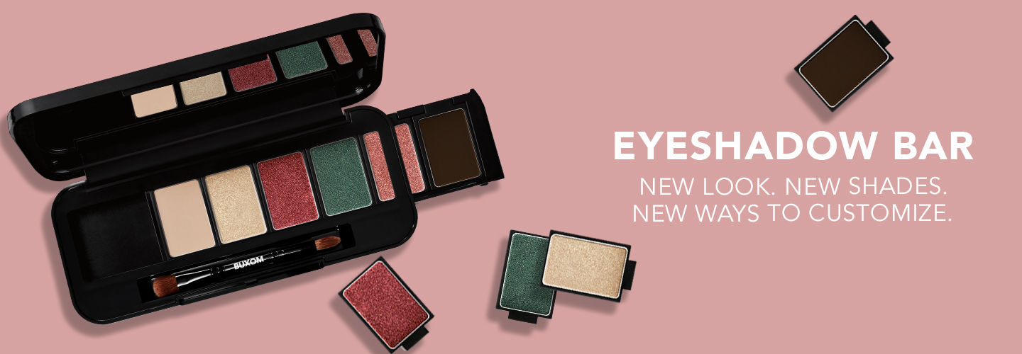 Eyeshadow Bar. New Look. New Shades. New Ways to Customize.