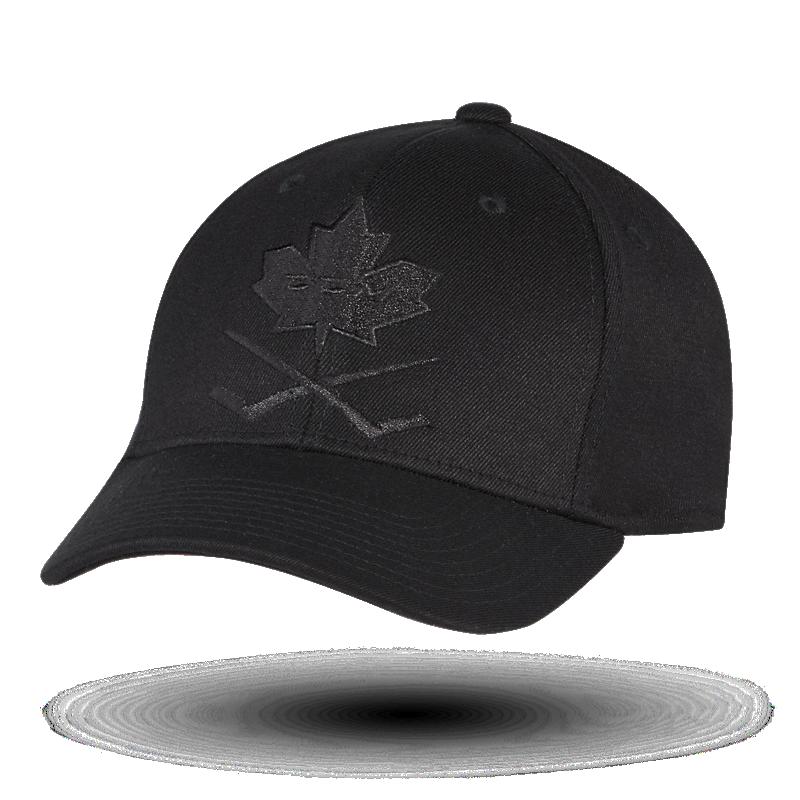 BlackOut Leaf Structured Flex Cap Senior