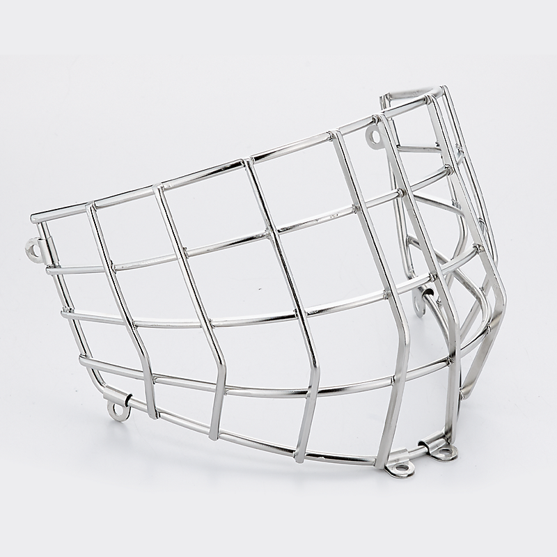 STAINLESS STRAIGHT GOALIE CAGE SR