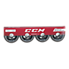 Roller Hockey Skate Replacement Wheels 4-Pack