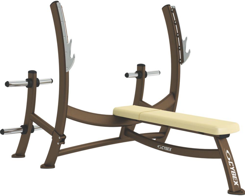 Olympic Bench Press With Weight Storage Cybex