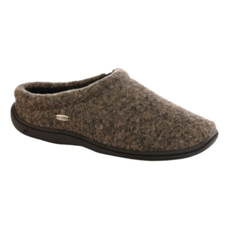 Acorn® Digby Gore Slippers - Greige Heather