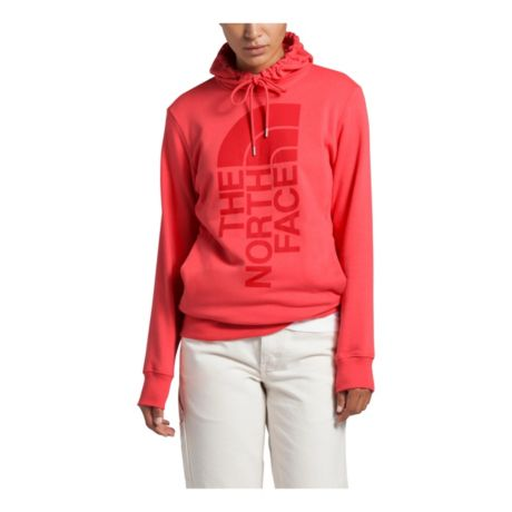The North Face® Women's Trivert Pullover Hoodie - Cayenne Red