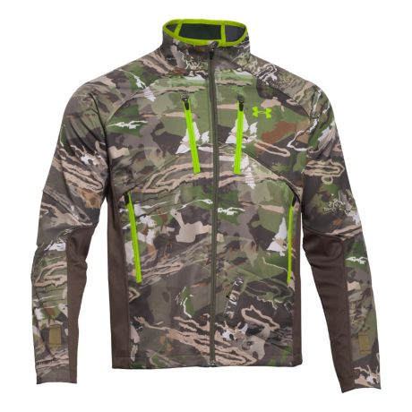 separation shoes 3b373 344c2 Mouse over image for a closer look. Under Armour® Infrared Scent Control  Softshell Jacket ...