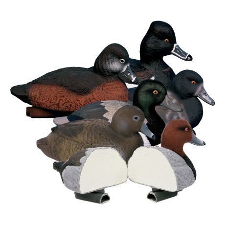 Higdon Outdoors Standard Foam-Filled Diver Duck Decoy Pack