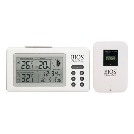 Bios Weather Indoor/Outdoor Thermometer/Hygrometer