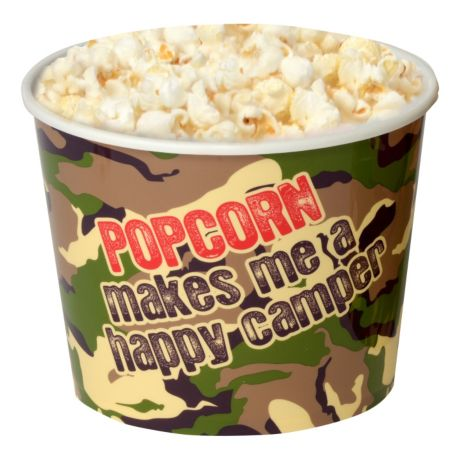 Wabash Valley Farms Happy Camper Camo Popcorn Tub - Medium View