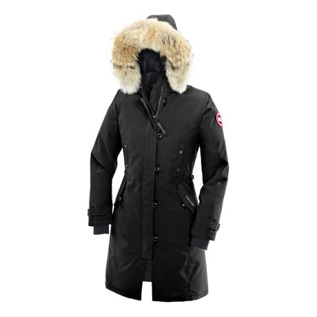 Canada Goose Women s Kensington Parka - Black. Use + and - keys to zoom in  and out 09b6fc5bd3ba