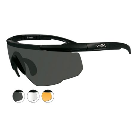c186ac9bf8 Wiley X Saber Advanced Shooting Glasses. Use + and - keys to zoom in and  out