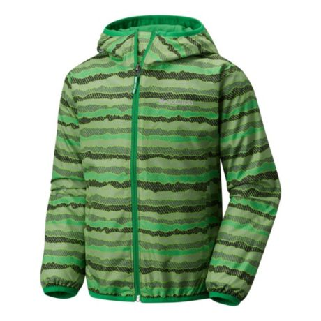 Columbia™ Boys' Pixel Grabber™ Jacket - Cyber Green