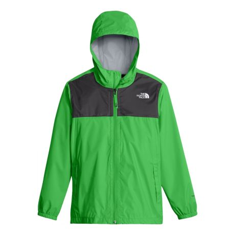 6532d13f The North Face® Boys' Zipline Rain Jacket - Classic Green. Use + and - keys  to zoom in and out, arrow keys move the zoomed portion of the image