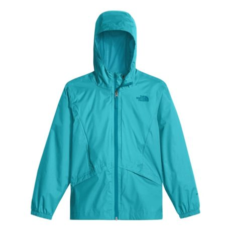 d4cea2edeeea The North Face® Girls  Zipline Rain Jacket - Blue Curacao. Use + and - keys  to zoom in and out