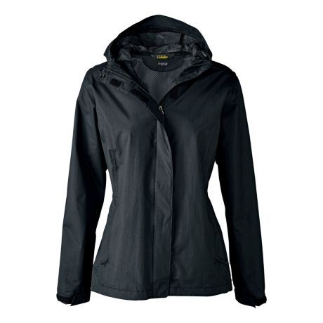 Guidewear Women's Rain Stopper Jacket with 4MOST REPEL™ - Black