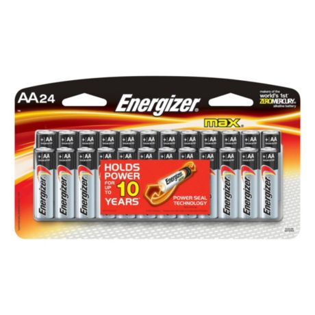 Energizer® Max™ AA Alkaline Batteries - 24 Pack