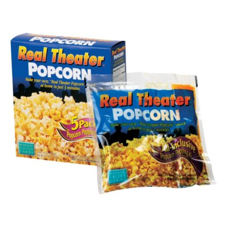 Real Theater Popcorn & Seasoning 5-Pack