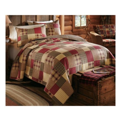 Cabela S Classic Patchwork Three Piece Quilt Set Cabela