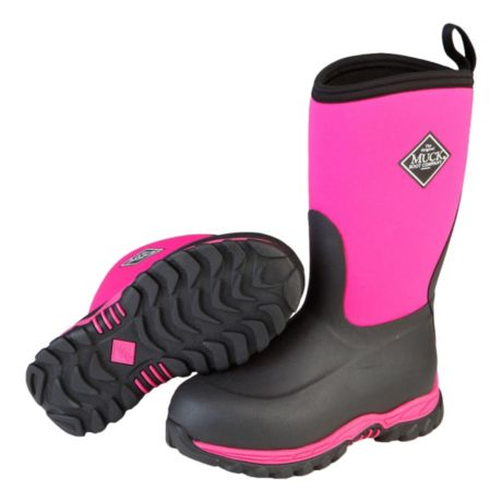 Muck® Youth Rugged 2 Boots - Hot Pink