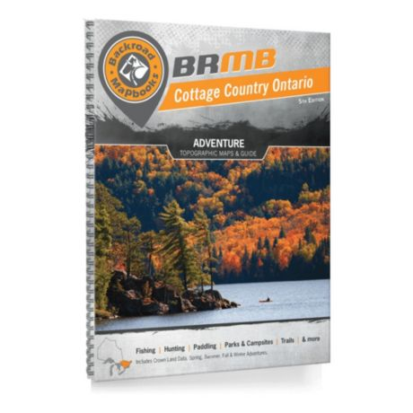 Backroad Mapbook - Cottage Country Ontario
