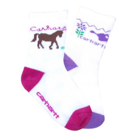 Carhartt Infant/Toddler Girls' Crew Sock