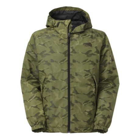 The North Face® Millerton Jacket - Black Ink Green Camo