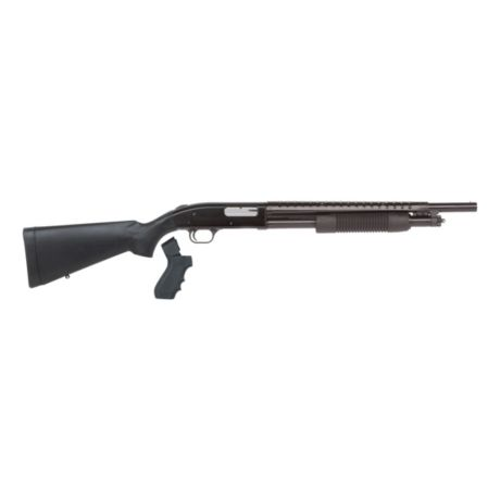 Mossberg 500 12-Gauge Pump-Action Shotgun w/ Heat Shield & Pistol Grip