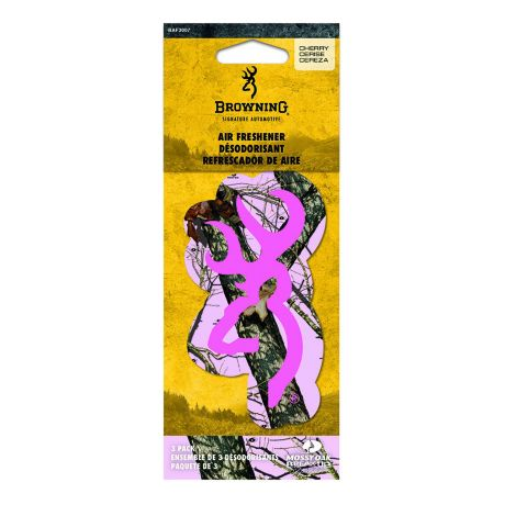 Signature Products Group Mossy Oak Air Fresheners - Mossy Oak Pink Buckmark